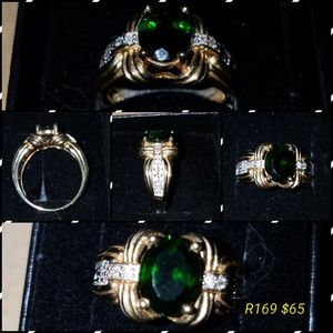 Jewelry - Rare Chrome Diopside Ring